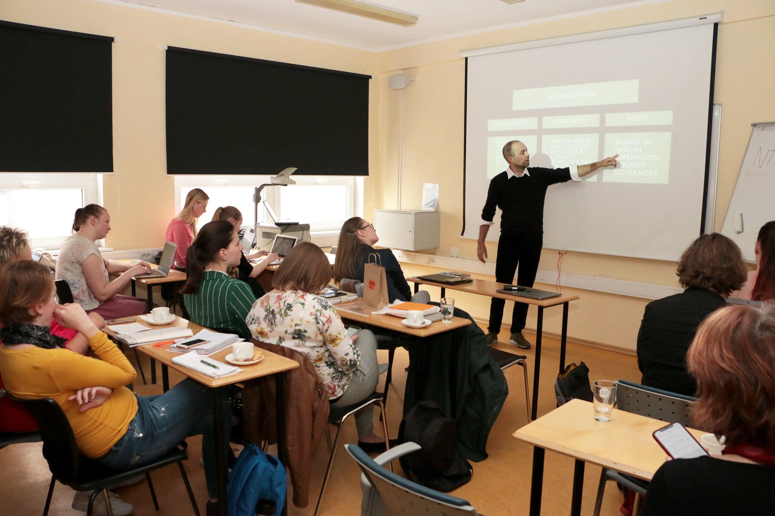 Asgeir Falch-Eriksen, Networking Lab in Tallinn University, 2019